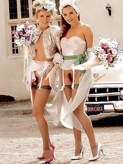 Bride Upskirt Porn Pics