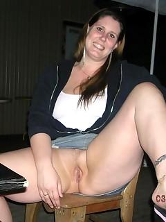 BBW Upskirt Porn Pics